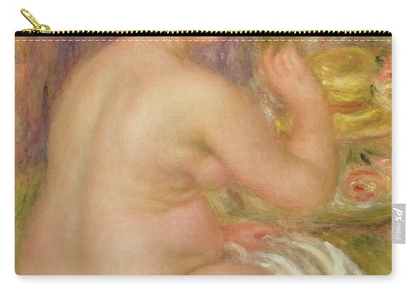 Seated Nude, The Pregnant Woman  Carry-all Pouch