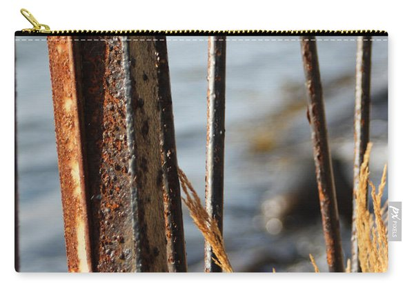 Seaview Through The Fence Carry-all Pouch