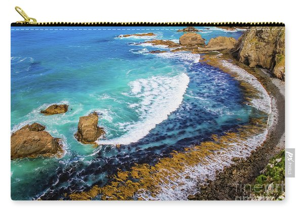 Roaring Bay At Nugget Point Carry-all Pouch