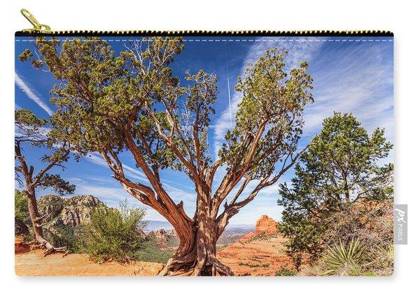 Sedona, Az - Merry-go-round The Utah Juniper Carry-all Pouch