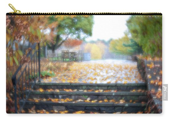 Carry-all Pouch featuring the photograph See Ya Next Fall by Brian Hale