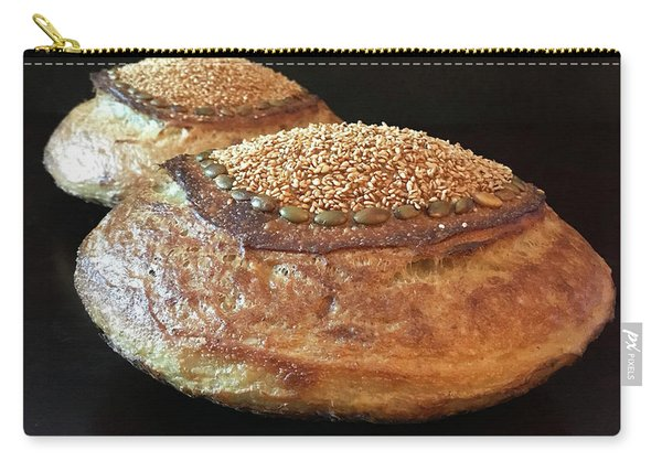 Seeded White And Rye Sourdough 2 Carry-all Pouch