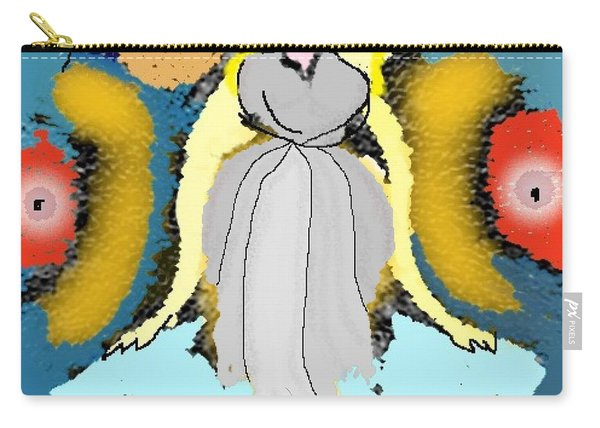 Seeing Angels Carry-all Pouch