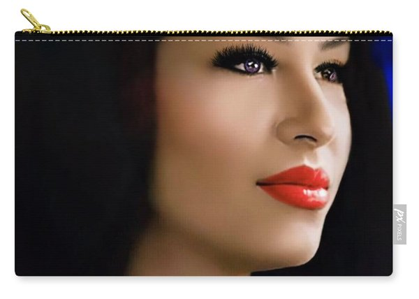 Selena Forever In Our Hearts Carry-all Pouch