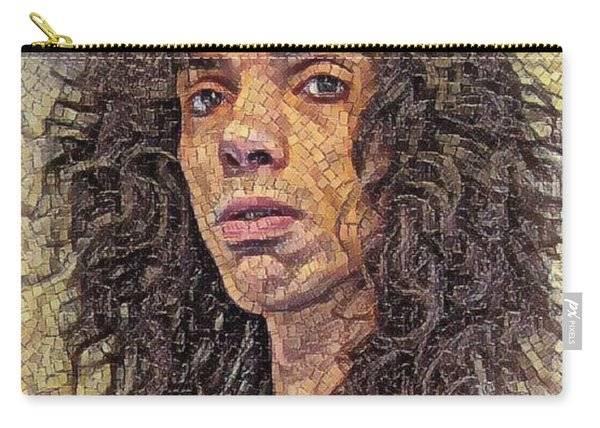 Self Portrait - The Shawn Mosaic - 80s Glam Rock Carry-all Pouch