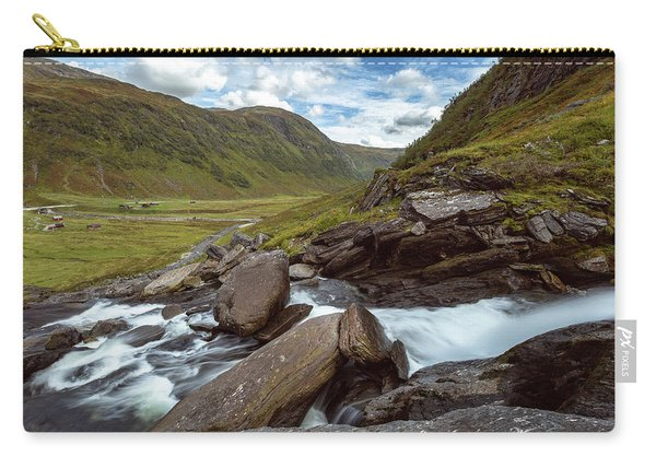 Sendefossen, Norway Carry-all Pouch