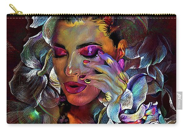 Sensual Orchids Carry-all Pouch
