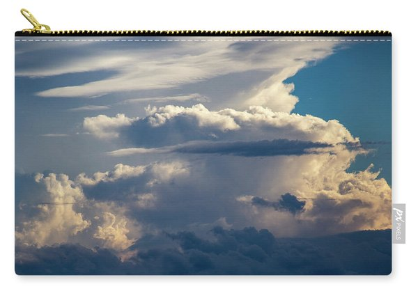 Carry-all Pouch featuring the photograph September Storm Chasing 015 by NebraskaSC