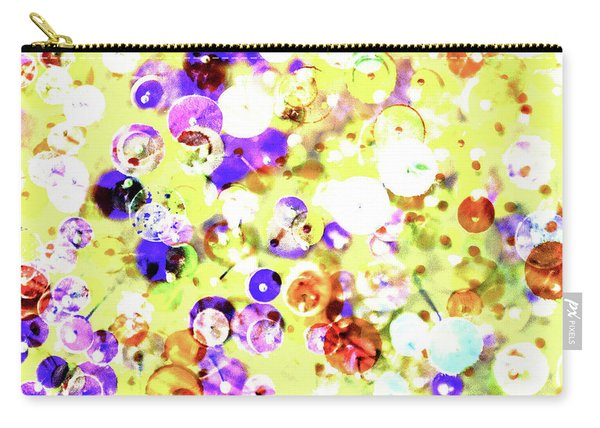 Sequins And Pins 2 Carry-all Pouch