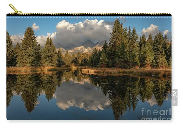 Serene At Schwabachers Landing Carry-all Pouch
