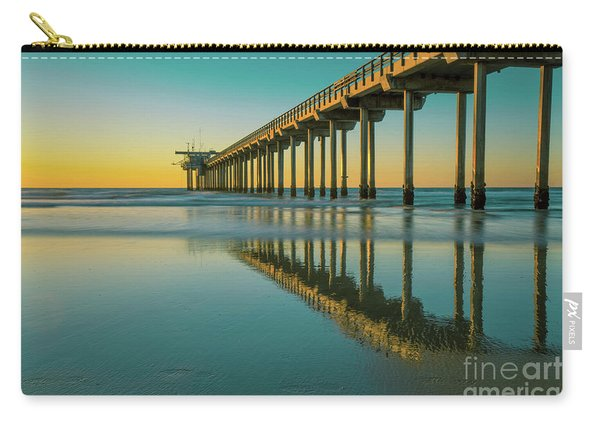 Serenity Scripps Pier La Jolla San Diego Carry-all Pouch