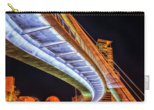 Serpentine Glow Carry-all Pouch