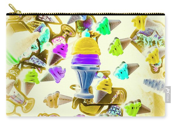 Served Ice-cream Cold Carry-all Pouch
