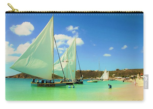 Set Your Sails At Sandy Ground In Anguilla Carry-all Pouch