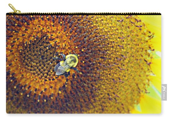 Carry-all Pouch featuring the photograph Shades Of Sun by Candice Trimble