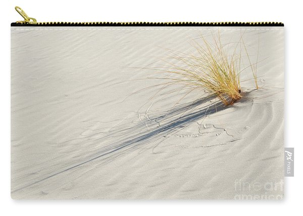 Shadows Of White Sands Carry-all Pouch