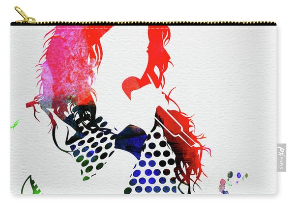 Shakira Watercolor Carry-all Pouch