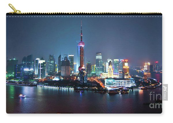 Shanghai Panorama Carry-all Pouch
