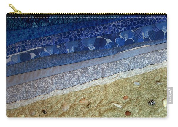 She Sews Seashells On The Seashore Carry-all Pouch