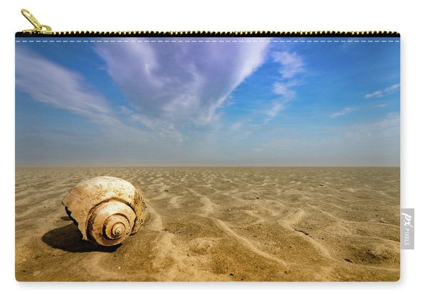 Shell At Hunting Island Carry-all Pouch