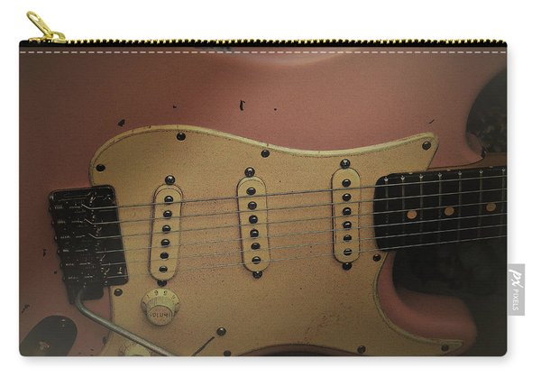 Shelly Pink Guitar Carry-all Pouch