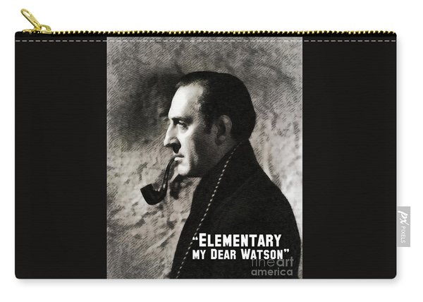 Sherlock Holmes Carry-all Pouch