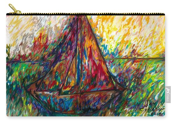 Ship In Color Carry-all Pouch