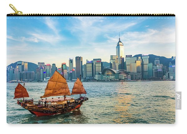 Ship In Hong Kong Carry-all Pouch