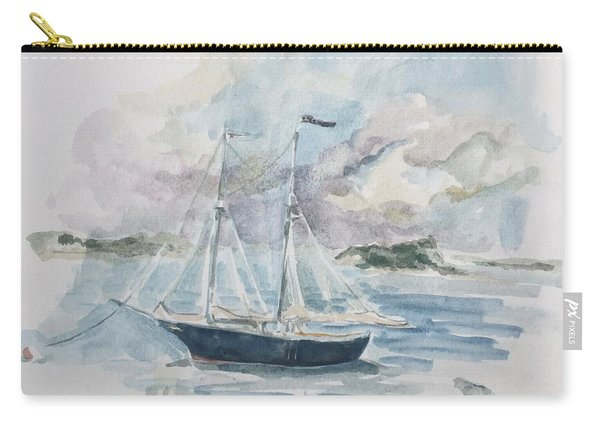 Ship Sketch Carry-all Pouch
