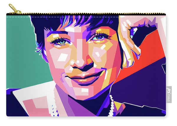 Shirley Maclaine Pop Art Carry-all Pouch