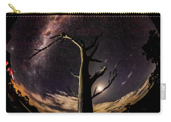 Shooting Stars And Milky Way Carry-all Pouch