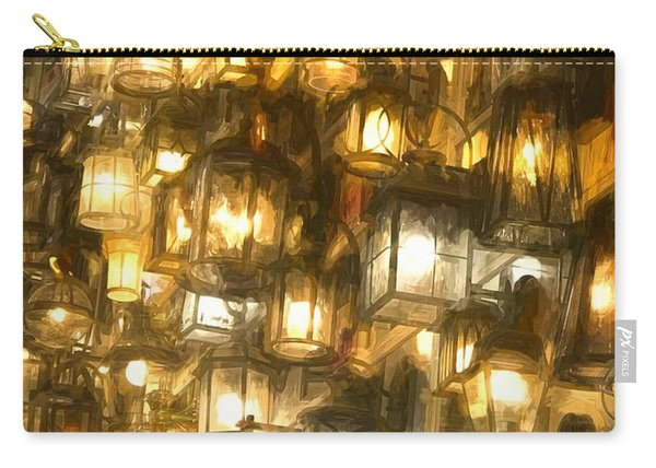 Shopping For Lighting Carry-all Pouch