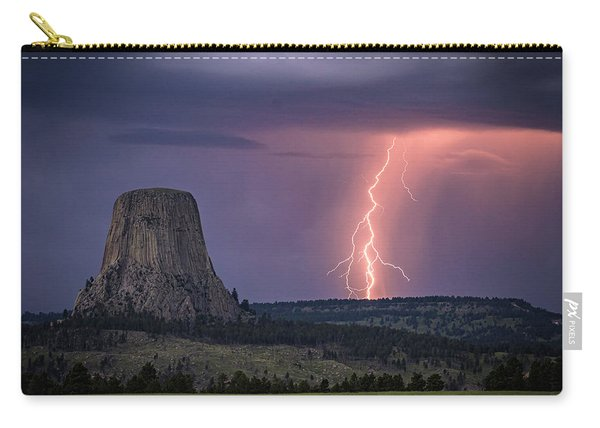 Showers And Lightning Carry-all Pouch