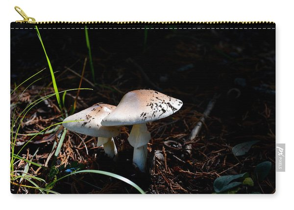 Shrooms In Low Light Carry-all Pouch