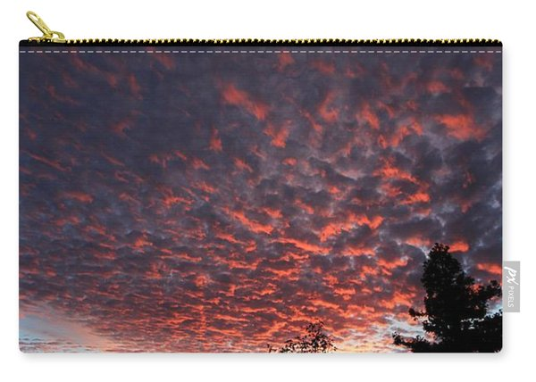 Carry-all Pouch featuring the photograph Sierra Skies by Sean Sarsfield