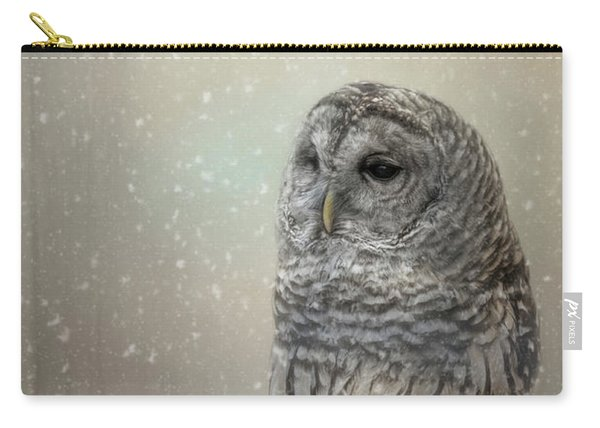 Silent Snow Fall Carry-all Pouch