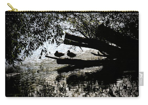 Silhouette Ducks #h9 Carry-all Pouch