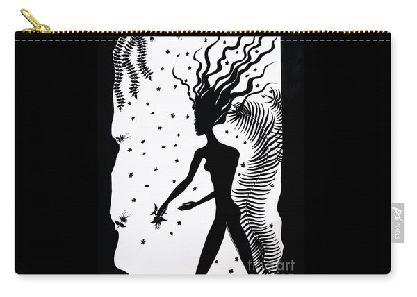 Silhouette Nature Dream Walking  Carry-all Pouch