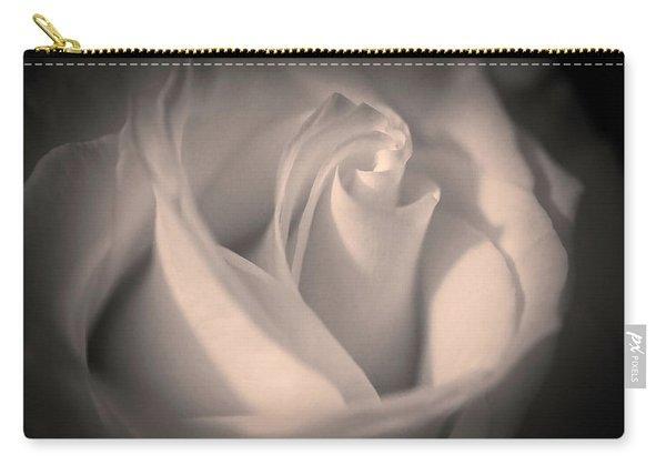 Silky Pastel Rose Carry-all Pouch