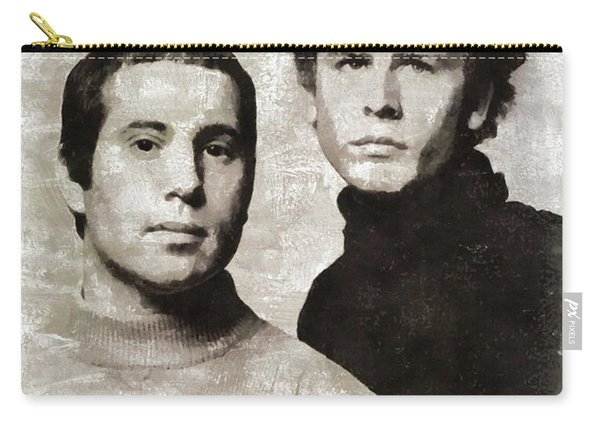 Simon And Garfunkel, Music Legends Carry-all Pouch