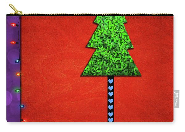 Simply Merry And Bright Carry-all Pouch
