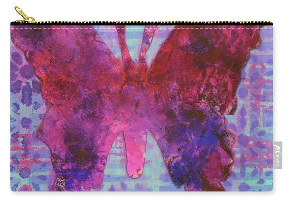 Sing Butterfly Carry-all Pouch