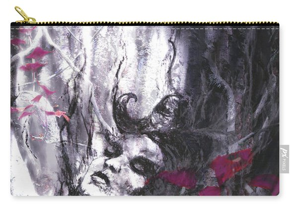 Siren Of The Crimson Forest  Carry-all Pouch