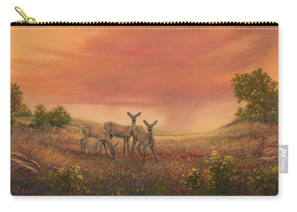 Sisters Of The Prairie Carry-all Pouch