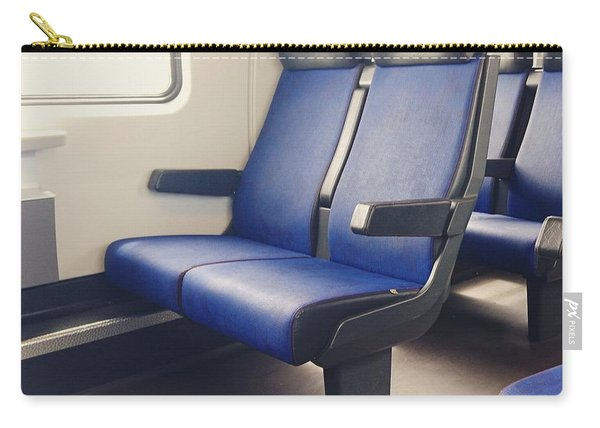 Sitting On Trains Carry-all Pouch