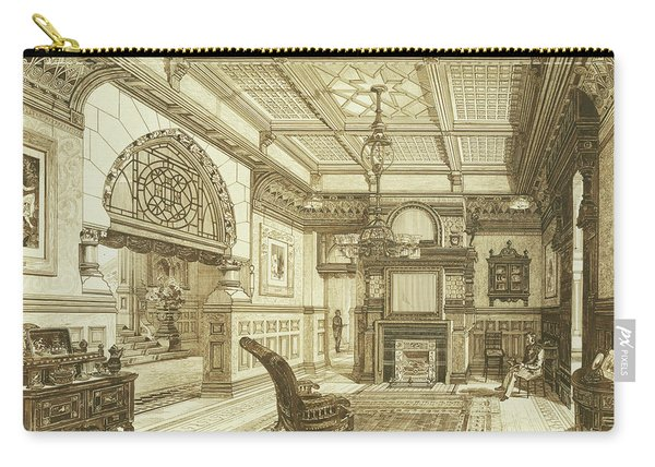 Sitting Room Of Bardwold, Merion Pa Carry-all Pouch
