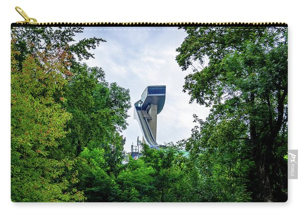 Ski Jump Tower Carry-all Pouch