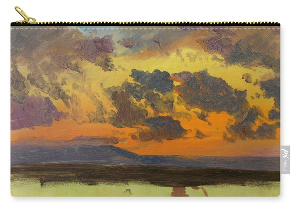 Sky At Sunset, Jamaica, West Indies - Digital Remastered Edition Carry-all Pouch