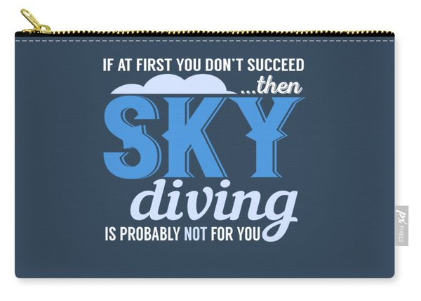 Sky Diving Carry-all Pouch