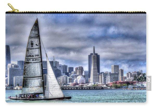 Skyline Sail  San Francisco Ca Carry-all Pouch